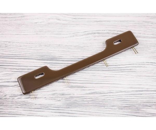 Ручка для сумки (коричневый, пластик)