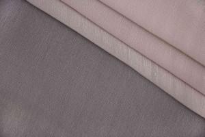 Ткань креш-шифон Италия (шелк 100%, бежево-кремовый, шир. 1,40 м)