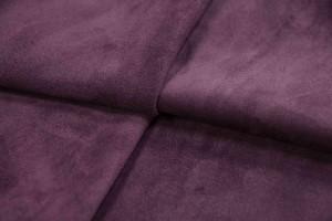 Кожа опоек Италия (темно-фиолетовый, замш)