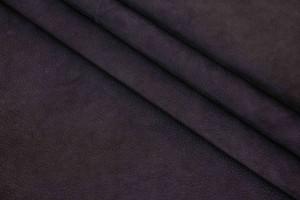 Кожа теленок Италия (черный, нубук, мягкий)