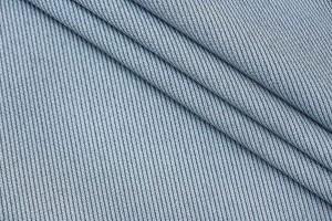 Ткань пальтовый габардин Италия (вискоза 50%, полиэстер 50%, бледно-бирюзовый, шир. 1,45 м)