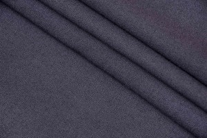 Ткань креп Италия (вискоза 50%, шерсть 50%, темно-серый, шир. 1,40 м)