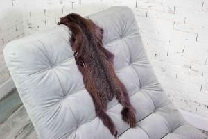 Шкура аргентинской лисы (сливовая)