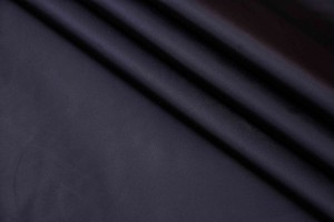 Ткань плащевка Италия (полиэстер 100%, черный, шир. 1,50 м)
