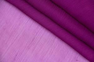 Ткань креш-шифон Италия (шелк 100%, фуксия, шир. 1,30м)