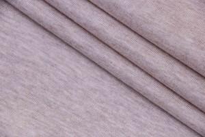 Ткань трикотаж Италия (коттон 100%, кремово-бежевый, шир. 1,50 м)