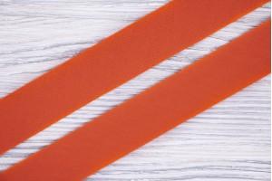 Косая бейка Италия (коттон 100%, оранжевый, ширина 2,5 см)