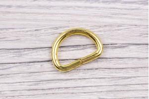 Полукольцо металл, разъемное (отполированное, золото)