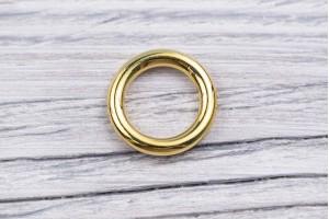 Кольцо металл, литое (золото, отполированный)