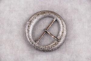 Пряжка металл (состаренный, серебро)