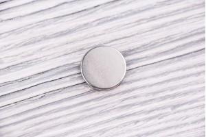 Магнит потайной (16 мм, никель, 2 шт.)