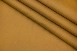 Ткань поплин Италия (коттон 100%, горчично-желтый, шир. 1,50 м)