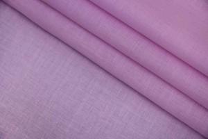 Ткань батист Италия (коттон 100%, лавандовый розовый, шир. 1,45 м)
