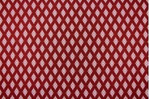 Ткань штапель Италия (вискоза 100%, темно-красный, ромбы, шир. 1,50 м)
