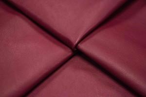 Кожа одежная овчина Италия (темно-красный, плотный, гладкий)