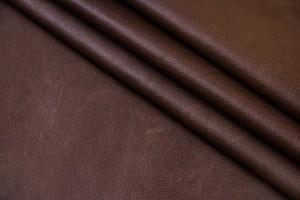 Кожа одежная овчина Италия (коричневый, гладкий)
