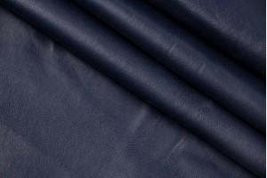 Кожа овчина (темно-синий, глянец, тонкий)
