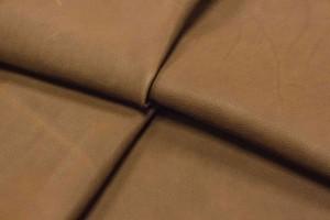 Кожа даблфейс опоек Италия (молочный шоколад, гладкий, даблфейс)