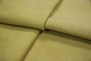 Кожа одежная опоек Италия (желтый, замш)