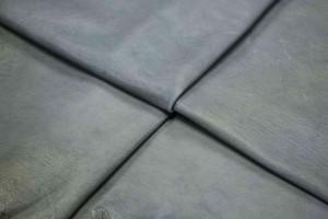 Кожа одежная козлик (серый, стропичата)