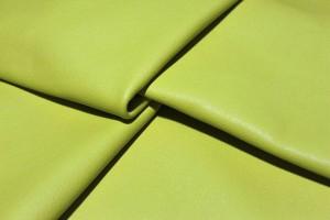 Кожа галантерейная КРС Италия (ярко-желтый, гладкий)