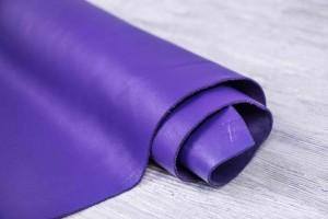 Кожа КРС Италия (фиолетовый, гладкий)