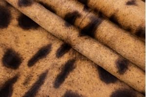 Кожа одежная опоек Италия (гепард, пони)