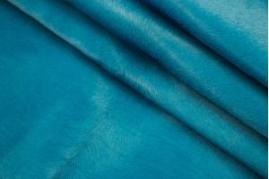 Кожа одежная опоек Италия (бирюза, пони)