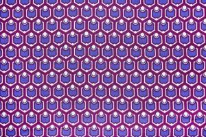 Ткань штапель Италия (вискоза 100%, цена за отрез 2,60м, разноцветный, орнамент, шир. 1,40 м)