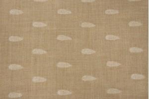 Ткань кашемир (кашемир 100%, песочный, листья, шир. 1,60 м)