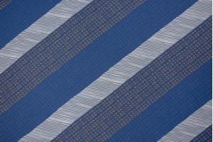 Ткань штапель Италия (вискоза 100%, сине-серый, полоски, шир. 1,40 м)