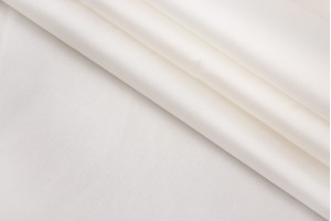 Ткань подкладочная Италия (плотная, вискоза 100%, молочный, шир. 1,40 м)
