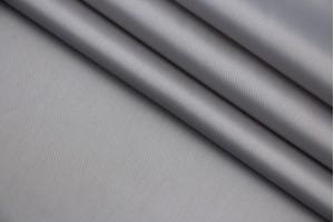 Ткань подкладочная Италия (тонкая, вискоза 100%, серый, шир. 1,40 м)