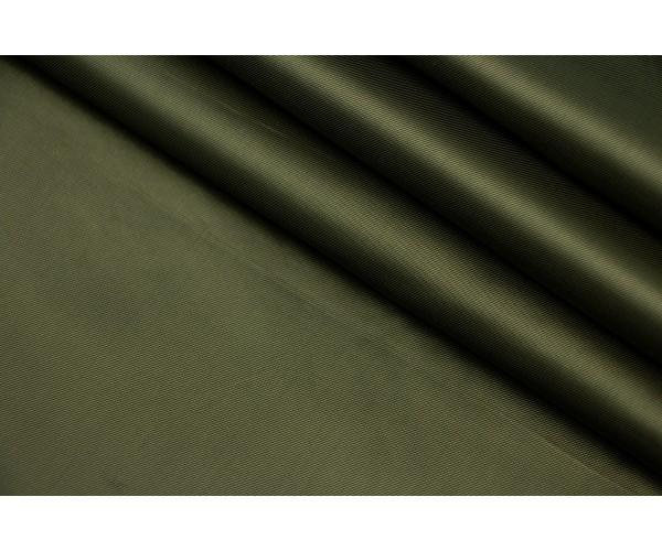 Ткань подкладочная Италия (вискоза 100%, темно-болотный, шир. 1,40 м)