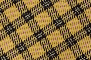 Ткань пальтовая Италия (полиакрил 100%, желто-горчичный, клетка, ширина 1,50 м)