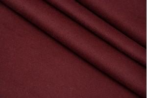 Ткань кашемир Италия (шерсть 100%, бордо, шир. 1,50 м)