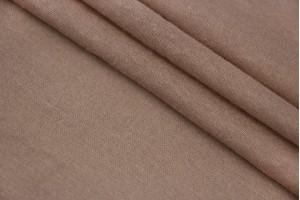 Ткань трикотаж Италия (тонкий, коттон 50%, полиэстер 50%, теплый бежевый, шир. 1,50 м)