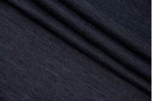 Ткань трикотаж Италия (тонкий, шерсть 70%, полиэстер 30%, графит, шир. 1,60 м)