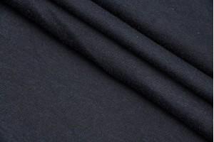 Ткань трикотаж Италия (коттон 100%, графит, шир. 1,50 м)