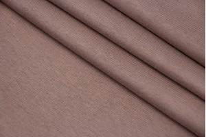 Ткань трикотаж Италия (коттон 100%, розово-бежевый, шир. 1,80 м)