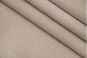 Ткань трикотаж (шерсть 100%, светло-песочный, шир. 1,60 м)