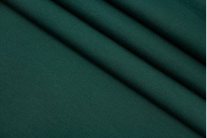 Ткань трикотаж джерси Италия (вискоза 100%, зеленый, шир. 1,50 м)