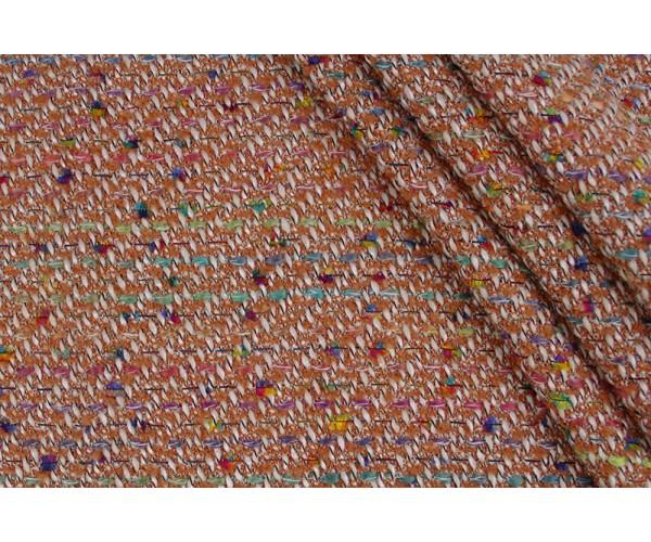 Ткань с буклированной поверхностью Италия (шерсть 80%, полиестер 20%, шир. 1,40 м)