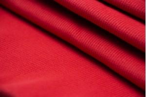 Ткань рибана Италия (коттон 100%, красный, шир. 1,03 м)