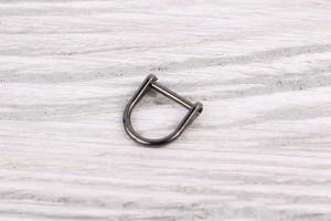 Пуллер для бегунка (темный никель, металл)