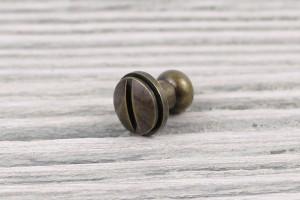 Кобурной винт металл (латунь)