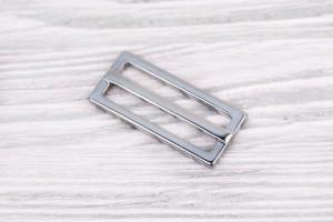 Регулятор длины металлический литой (отполированный, никель)