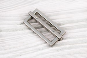 Регулятор длины металлический составной (отполированный, никель)