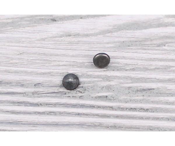 Заклепка металл 5 мм (матовый, олово, цена за упаковку)