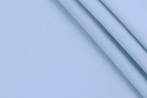 Ткань поплин Италия (коттон 100%, голубой, шир. 1,50 м)